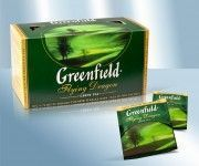 Thé vert Greenfield Flying Dragon 25 sachets