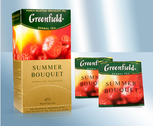 Herbal thé Greenfield Summer Bouquets 25 sachets